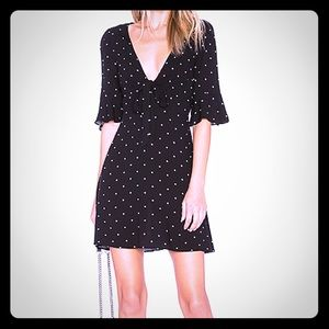 Free People Polka Dot Mini Dress sz. 4